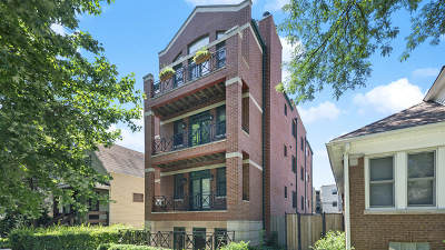 Condo/Townhouse For Sale: 4314 North Mozart Street #1