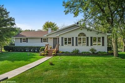 Barrington Single Family Home Price Change: 1202 Prairie Avenue