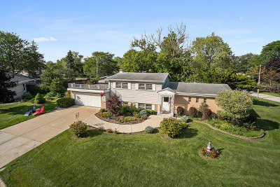 Glenview Single Family Home For Sale: 3231 Greenbriar Drive
