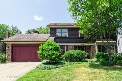 Wheaton Single Family Home For Sale: 1502 Cantigny Way