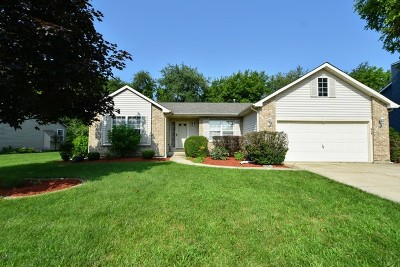 McHenry Single Family Home Price Change: 829 Amberwood Place