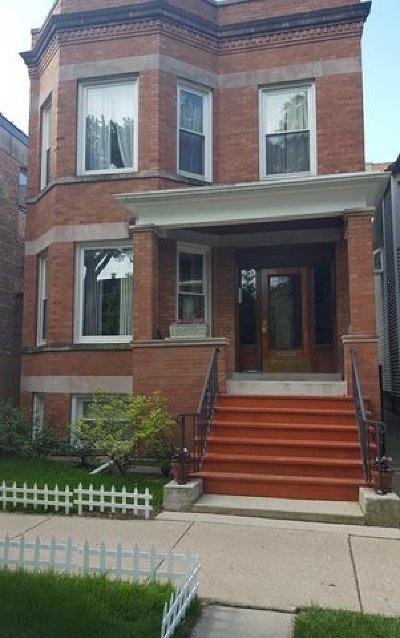 Roscoe Village Multi Family Home For Sale: 1831 West Newport Avenue