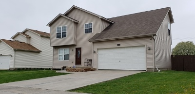 Plainfield Single Family Home Price Change: 1303 Idabright Drive