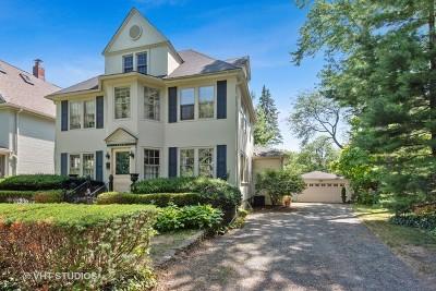 Evanston Single Family Home For Sale: 1018 Lee Street