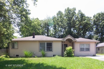 Lake Zurich Single Family Home Contingent: 1051 Betty Drive