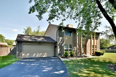 Roselle Single Family Home Price Change: 626 Lakeview Court