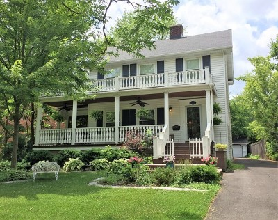 Western Springs Single Family Home For Sale: 3924 Central Avenue