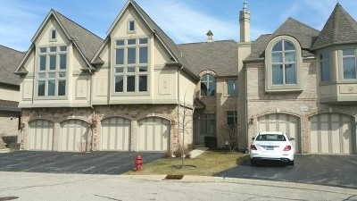 Palatine Condo/Townhouse For Sale: 1581 South Kembley Avenue