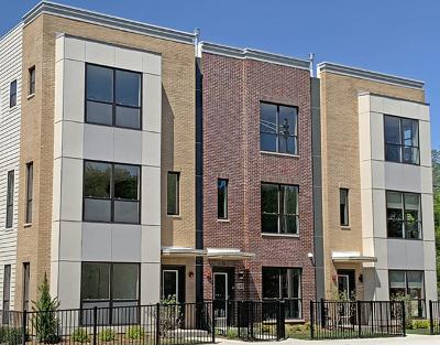 Oak Park Condo/Townhouse For Sale: 446 Home Street #6-3