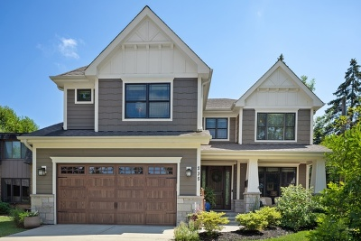 Downers Grove Single Family Home For Sale: 235 4th Street