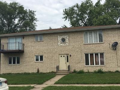 Oak Lawn Multi Family Home Price Change: 10048 South Marion Avenue