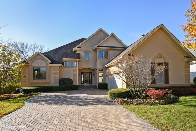 Palatine Single Family Home Price Change: 1167 South Hidden Brook Trail