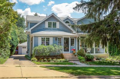 Glen Ellyn Single Family Home For Sale: 533 Longfellow Avenue