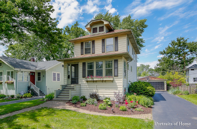 Downers Grove Single Family Home For Sale: 708 Chicago Avenue