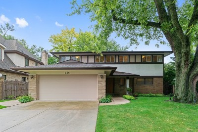 Wilmette Single Family Home For Sale: 336 Beverly Drive