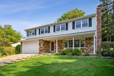 Downers Grove Single Family Home For Sale: 1324 Brookside Lane