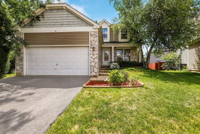 Streamwood Single Family Home For Sale: 5 Hummingbird Court