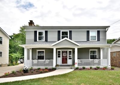 Glen Ellyn Single Family Home Price Change: 721 Prairie Avenue