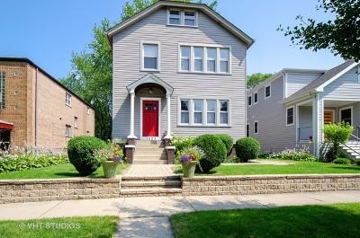 Evanston Single Family Home For Sale: 1623 Washington Street