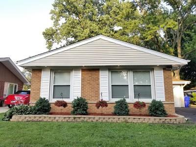 Glen Ellyn Single Family Home For Sale: 145 South Park Boulevard