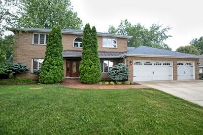 Homer Glen Single Family Home For Sale: 13802 South Teakwood Drive