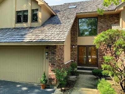 Burr Ridge Condo/Townhouse Price Change: 42 Oak Creek Court