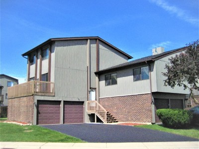 Roselle Condo/Townhouse For Sale: 44 Lake Shore Drive
