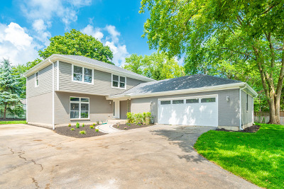 Wilmette Single Family Home Price Change: 2008 Hollywood Court
