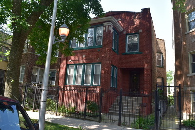 Multi Family Home For Sale: 4948 North Albany Avenue