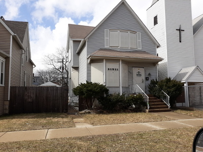 Cook County Single Family Home Re-Activated: 11834 South Wallace Street