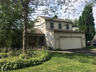 Mundelein Single Family Home For Sale: 15 Sherwood Court