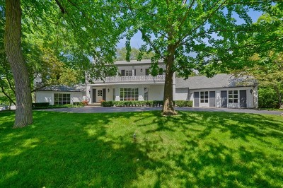 Winnetka Single Family Home For Sale: 741 Prospect Avenue