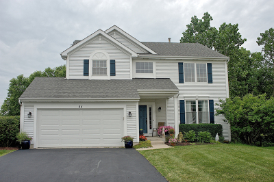 Lake Zurich Single Family Home For Sale: 54 Carolyn Court