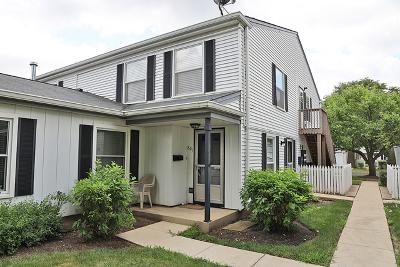 Elk Grove Village Condo/Townhouse For Sale: 801 Wellington Avenue #U31