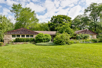 Libertyville Single Family Home For Sale: 15680 West Timber Lane