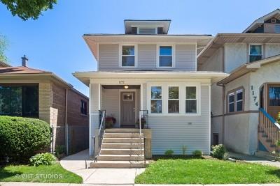Oak Park Single Family Home For Sale: 1172 South Ridgeland Avenue