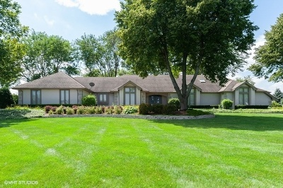 Mundelein Single Family Home For Sale: 24349 West Old Oak Drive