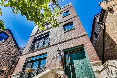 Wicker Park, Bucktown Condo/Townhouse For Sale: 2212 North Seeley Avenue #1