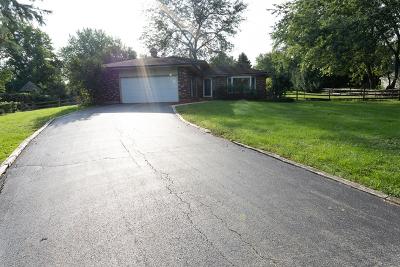 St. Charles Single Family Home For Sale: 39w489 Hemlock Drive