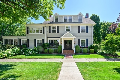 Winnetka Single Family Home For Sale: 265 Woodland Avenue
