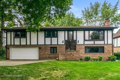 Glen Ellyn Single Family Home Price Change: 22w471 McCarron Road