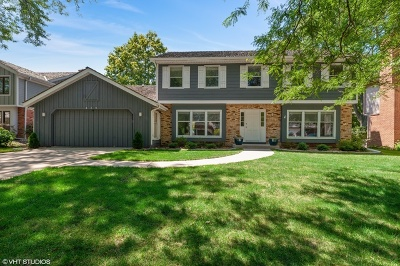 Libertyville Single Family Home For Sale: 829 Paddock Lane