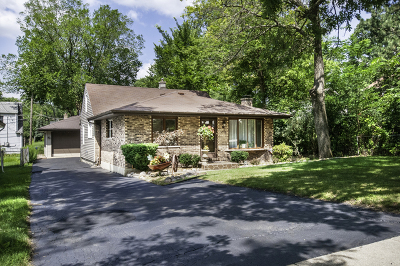 Hickory Hills Single Family Home For Sale: 9318 South 82nd Avenue