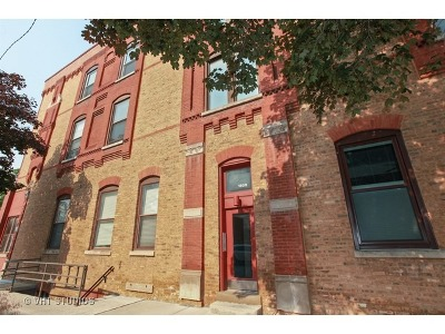 Condo/Townhouse For Sale: 1808 North Bissell Street #3A