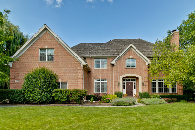 Libertyville Single Family Home For Sale: 1218 Checkerberry Court