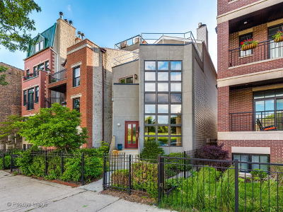 Single Family Home For Sale: 2034 North Burling Street
