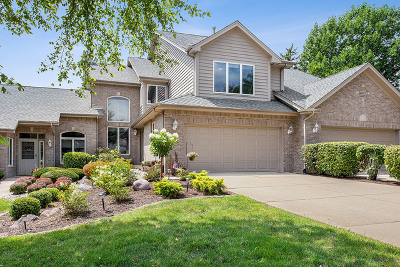 Orland Park Condo/Townhouse For Sale: 14306 South Blue Spruce Court