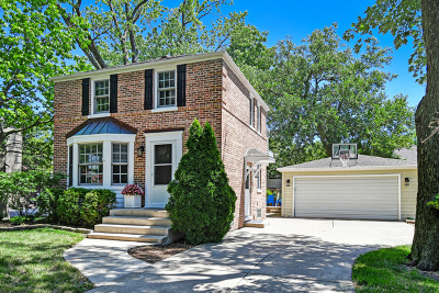 Clarendon Hills Single Family Home For Sale: 17 Iroquois Drive