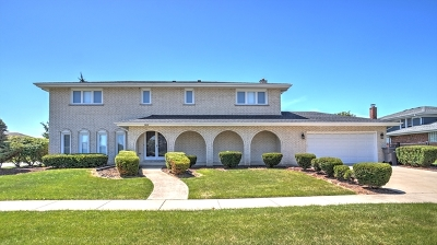 Orland Park Single Family Home For Sale: 15648 Chapel Hill Road