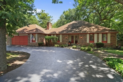 Willowbrook Single Family Home For Sale: 10s361 Hampshire Lane West